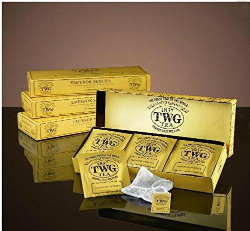 シンガポールの高級シンガポールの高級紅茶TWGシリーズ(EMPEROR SENCHA - 15ティーパック)並行輸入品