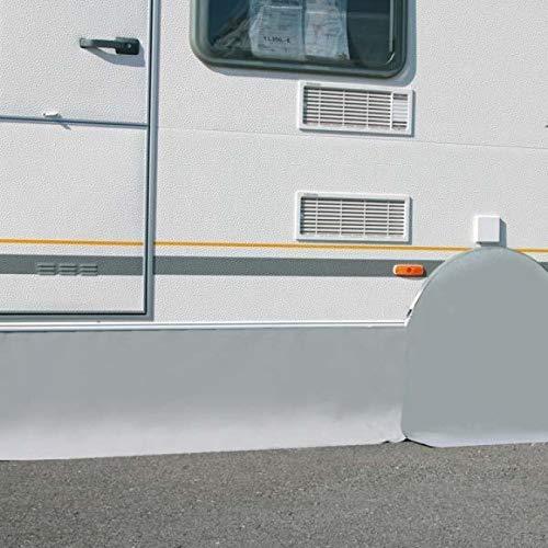BERGER Wagenschürze 310x75cm Abdeckung Wohnmobil Fahrzeugschürze Camping Bodenschürze Reisemobil