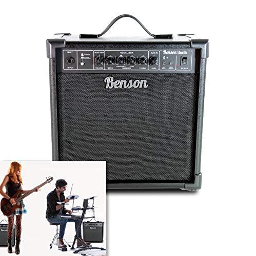 Benson 35 watt Austin DRUM & BASS Bluetooth multi functional practice amp (bass guitar/Electric Drum kit)
