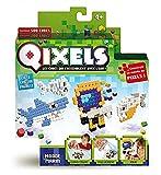 Mini Kit 4 Créations Qixels - Thème Monde Marin - Asmokids - Loisirs créatifs - Jeu Garçons