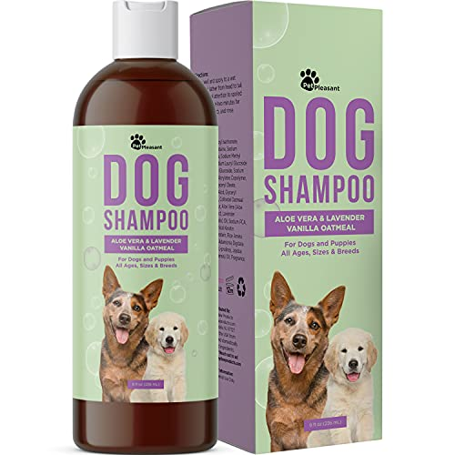 Vanilla and Colloidal Oatmeal Dog Shampoo -...