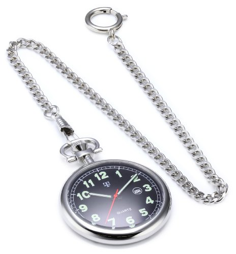 MTS Pocket Watch With Cha