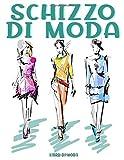 Schizzo Di Moda: Donna che disegna diverse pose, modello di disegno per stilista e stilista di abbigliamento Contorno ragazza modello per la moda   Corpo di donna   Illustrazione di moda.