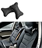 Katech 2 Pieces of Car Neck Pillows Headrest Breathable Neck Support Cushion Ergonomic