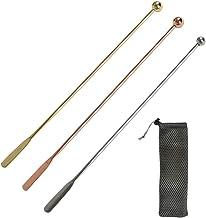 YOTINO 3 stuks cocktailroerders Swizzle Sticks, metalen roerder roestvrij staal mengen cocktail koffieroerders voor wijnsap