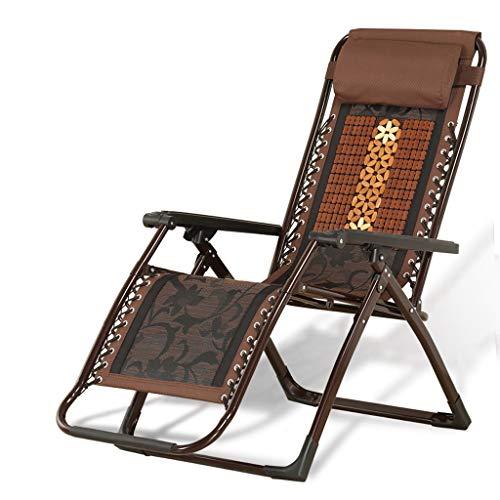 Pieghevole reclinabile Tubo Quadrato Mahjong Block Bamboo Sedile Sedia reclinabile Pausa Pranzo Sedia da Ufficio Sedia Siesta Sedia Bamboo Lounge Sedia Estiva Traspirante