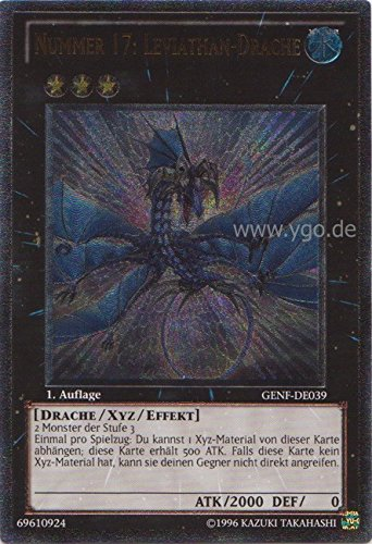 GENF-DE039 Nummer 17: Leviathan-Drache Ghost Rare