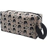 Cosmetic Bag Toiletry Travel Bag Audrey Hepburn Retro Water-resistant Makeup Organizer Bag for Women Girls