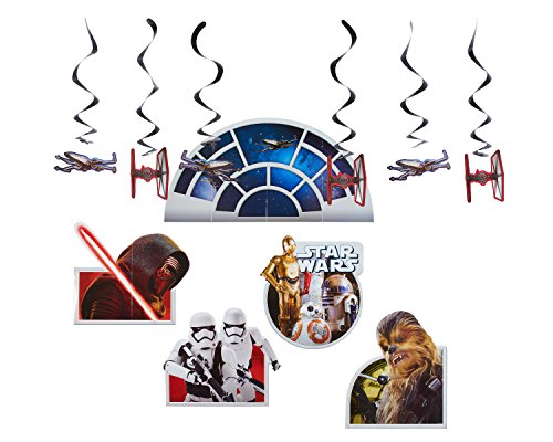 American Greetings Star Wars Episode 8 Party Supplies, Room Transformation Kit, 1-Count