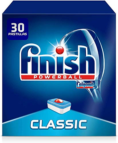 Finish Classic Regular Pastillas para Lavavajillas, 30 Pastillas