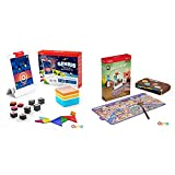 Osmo - Genius Starter Kit for iPad (New Version) (Ages 6-10) + Detective Agency: A Search & Find Mystery Game Bundle (Ages 5-12) iPad Base Included