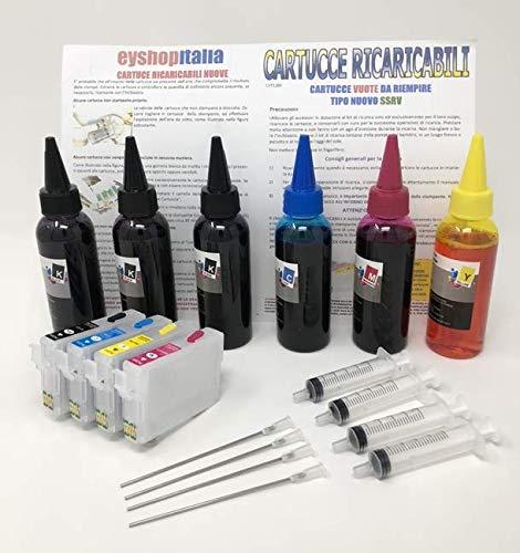 Cartucce d'inchiostro ricaricabili 29XL per stampanti EXPRESSION HOME XP-252 XP-255 XP-257 XP-352 XP-355 XP-452 XP-455 T2991-T2994