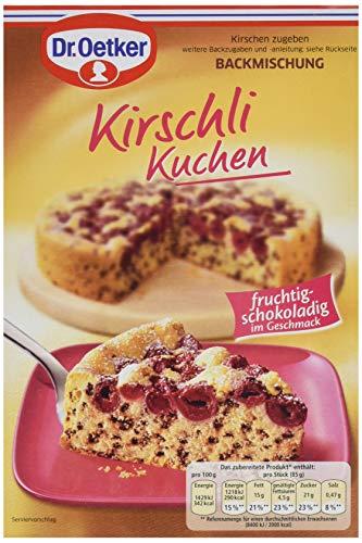 Dr. Oetker Kirschlikuchen, 8er Pack (8 x 435 g)
