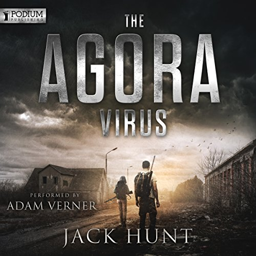 The Agora Virus audiobook cover art