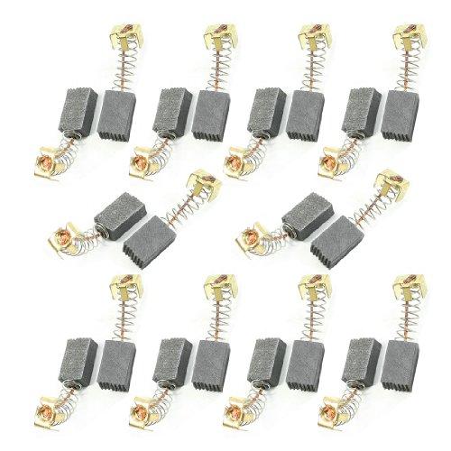 sourcingmap® 10 Pares Escobillas de carbón de Motor eléctrico herramienta eléctrica de...