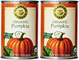 Farmer's Market Foods, Organic Canned Pumpkin, 15 Ounce Pack of 2