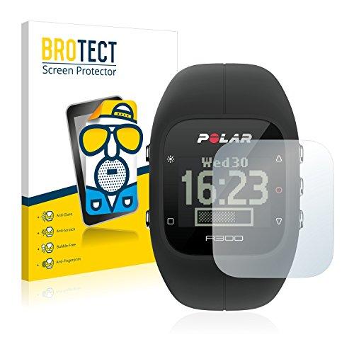 BROTECT 2X Entspiegelungs-Schutzfolie kompatibel mit Polar A300 Bildschirmschutz-Folie Matt, Anti-Reflex, Anti-Fingerprint
