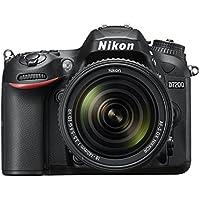 """Nikon D7200 - Cámara réflex Digital de 24.2 MP (Pantalla de 3.2"""", FHD, WiFi), Color Negro - Kit con Objetivo AF-S Nikkor 18-140 mm, f/3.5-5.6 ED VR"""
