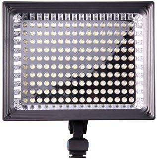 Iluminación para cámara DSLR luz de videocámara 160 LED para + F750 Batería para Canon Nikon Pentax Panasonic Sony Samsung y Olympus Digital SLR
