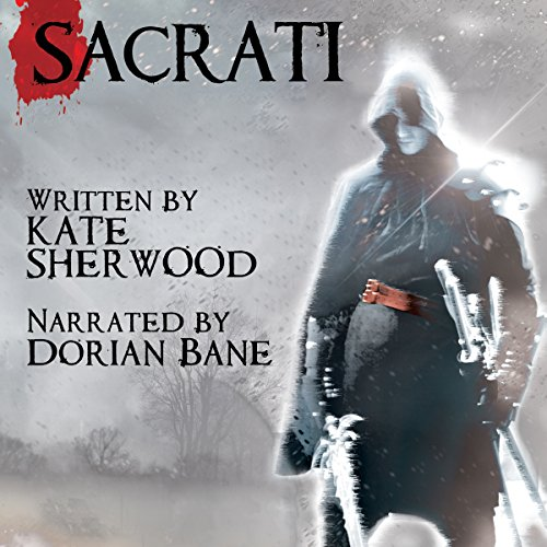 Sacrati audiobook cover art