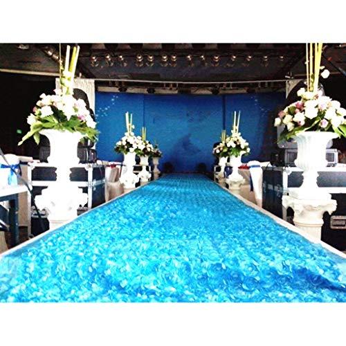 Mysida Wedding Carpet 3D Rose Aisle Tapijt, loper, tafelkleed, bruiloft, evenement, accessoires, decoratieve achtergrond