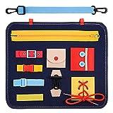 Dreamingbox Juguetes Niñas 1 2 3 4 5 6 Años, Montessori Niño 1-8 Años Libro Sensorial Fieltro Juegos Educativos Niños 1-4 Años Regalo Niño 1-4 Años Cumpleaños Bebes Juguetes Montessori 1 2 3 4 Años