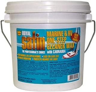 Garry's Royal Satin Marine & RV ONE STEP Cleaner Wax (1 Gallon)