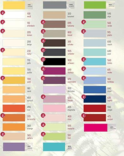 Estella Zwirn Jersey Wasserbetten Spannbetttuch, Spannbettlaken in allen Größen und vielen Farben GRATIS 1x SCHAL GRATIS (weiss (100), 140x200 cm bis 160x220 cm)