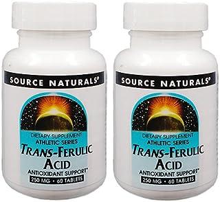 【お得な2本セット】トランスフェルラ酸 250mg / 60タブレット