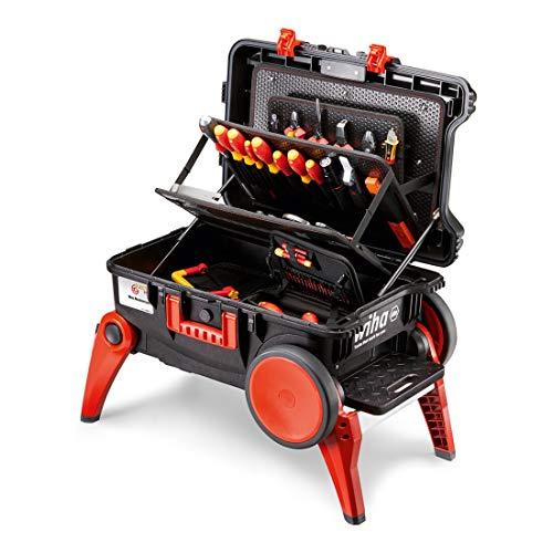 Wiha Werkzeugkoffer Set XXL III electric (44128), 100-tlg.
