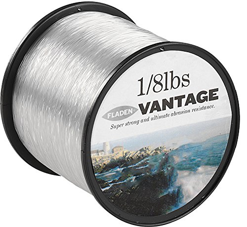 Fladen Vantage Bobine de Fil de pêche Professionnel 57 g Transparent Transparent 5lbs