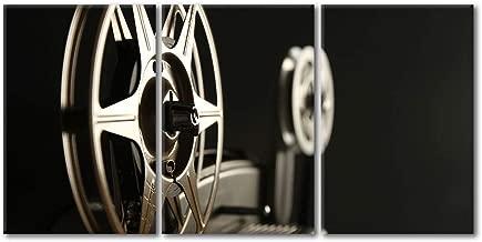 wall26 - Closeup of 8mm Film Reels - Canvas Art Wall Decor - 16