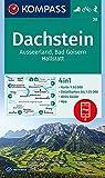 KOMPASS Wanderkarte Dachstein, Ausseerland, Bad Goisern, Hallstatt: 4in1 Wanderkarte 1:50000 mit Aktiv Guide und Detailkarten inklusive Karte zur ... Skitouren. (KOMPASS-Wanderkarten, Band 20)