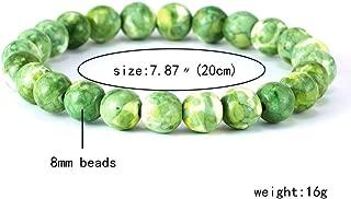 CTRCHUJIAN Fashion Natural Stone Bracelets For Women Men 8Mm Amethysts Quartzs Lapis Lazuli Round Beaded Stretch Bracelets Bangles