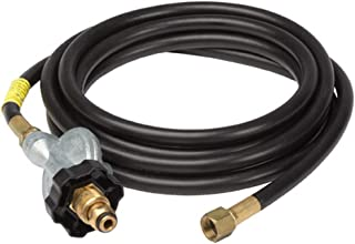 Mr. Heater 12-Feet Hose/Regulator Assembly, P.O.L. and Hand Wheel x 3/8-Inch Female Pipe Thread