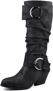 BalaMasa Womens ABS14126 Pu Boots