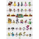 スーパーマリオ - (35周年記念) - Character Parade/ポスター 【公式/オフィシャル】