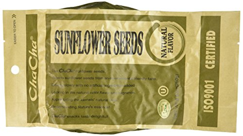 Chacha Sunflower Roasted and Salted Seeds (All Nature) 250g X 18bags