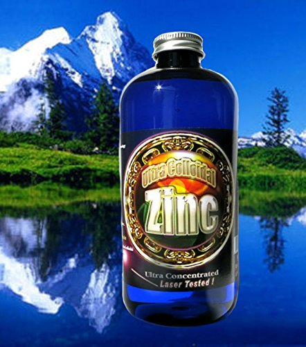 Colloidal Zinc Concentrate 16 Oz. 240 PPM by Silver MTN Minerals