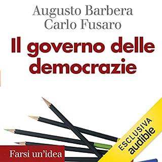 Il governo delle democrazie copertina