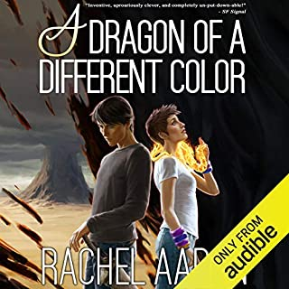 A Dragon of a Different Color audiobook cover art