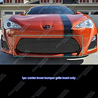 APS Compatible with 2013-2016 Scion FR-S Lower Lower Bumper Black Billet Grille Insert T65979H