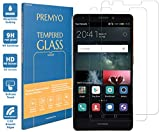 PREMYO Lot de 2 Verre Trempé Film Protection Écran Compatible avec Huawei Mate S Dureté 9H Bords...