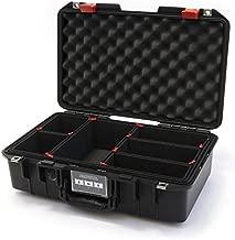 Black & Red Pelican 1485 Air case with Trekpak dividers.