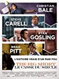 The Big Short – Französisch Film Poster Plakat Drucken