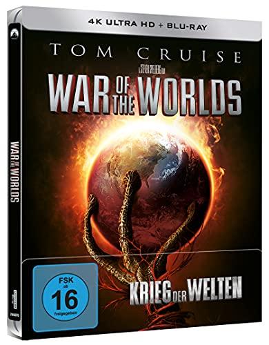Krieg der Welten - Limited Steelbook (4K Ultra HD) (+ Blu-ray 2D)
