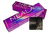 Teintures professionnelles SANS AMMONIAQUE, PPD ou MEA - 3.1- Châtain sombre cendre - NEALA 100ml.