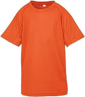 Spiro Chidlrens/Kids Impact Performance Aircool T-Shirt