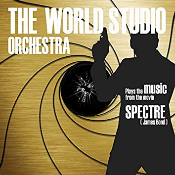 plays the music from the movie SPECTRE (James Bond)