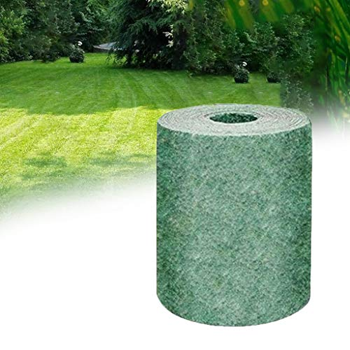 OADAA 3 M / 10 M Estera de Semillas de césped Biodegradable...